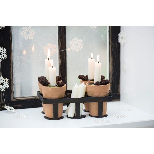 Svíčka Cream - set 6 ks