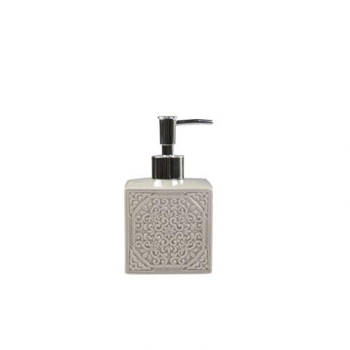 Porcelánový zásobník na mýdlo Ornament White
