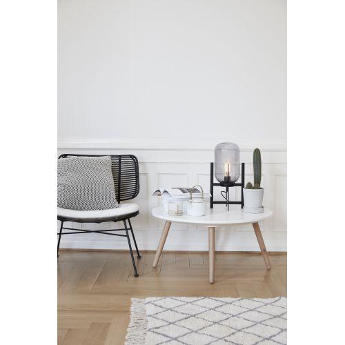 Bavlněný kobereček White/grey 90x150 cm