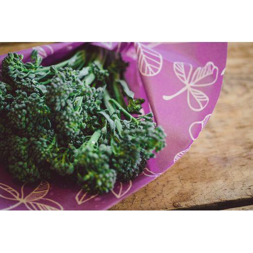 Ekologický potravinový ubrousek Purple-3ks