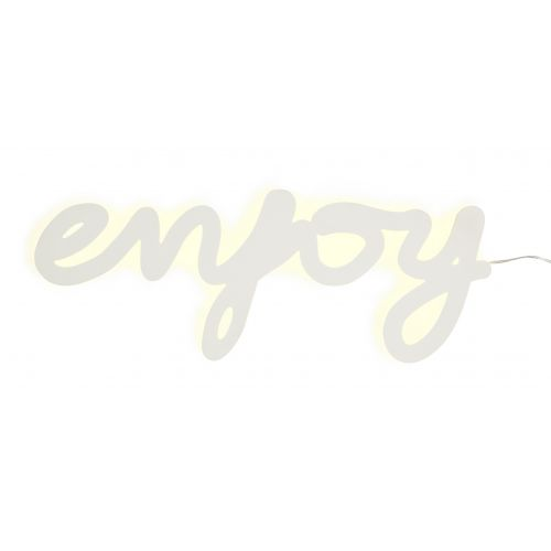Světelný nápis Enjoy