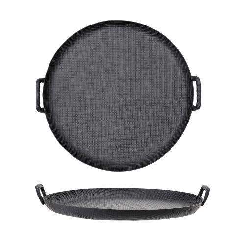 Hliníkový tác Black Alluminium Ø 54 cm