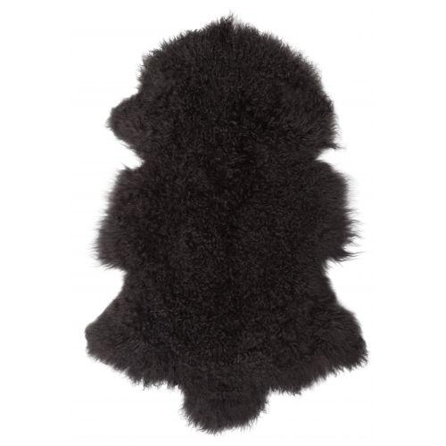 Tibetská ovčí kožešina Dark grey