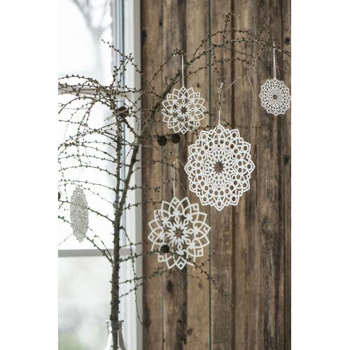 Vánoční papírová ozdoba Star 20 cm