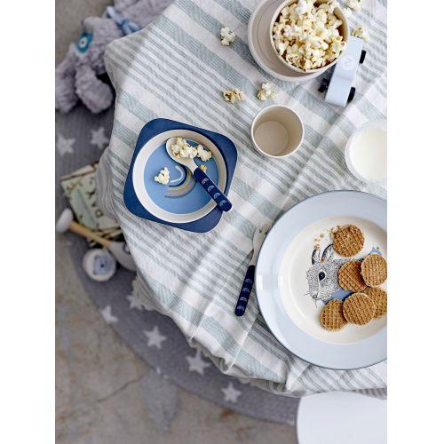 Dětský jutový kobereček Stars Grey 100 cm