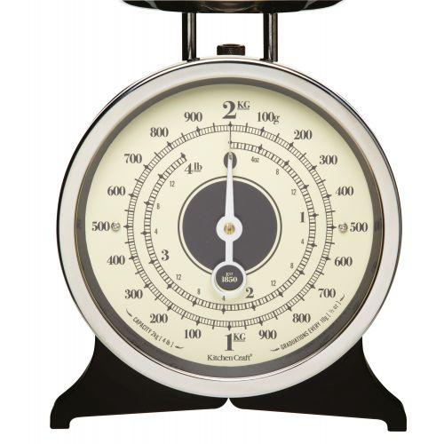 Mechanická kuchyňská váha Black - 2 kg