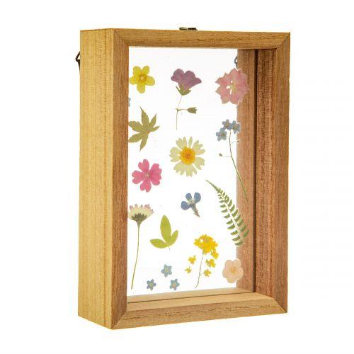 Dřevěný rámeček Pressed Flowers Floating