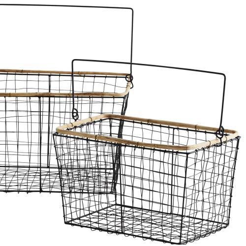 Drátěný košík s uchem Bamboo