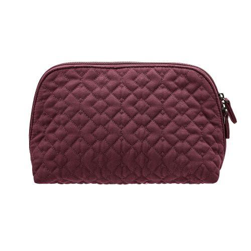 Prošívaná kosmetická taška Red