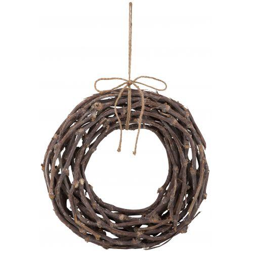 Dekorativní věnec z větviček - 40cm