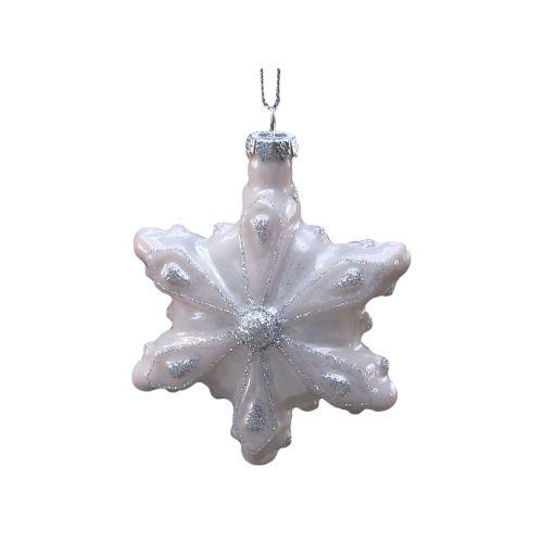 Vánočí ozdoba Ice crystal