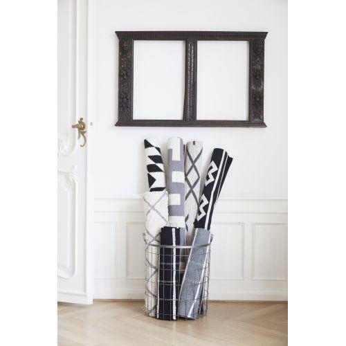Tkaný kobereček Grey/white 60x120 cm