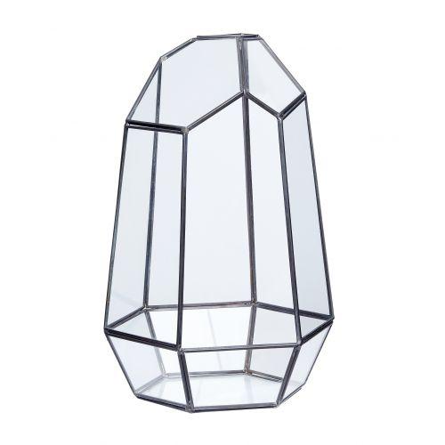 Skleněný box Polyhedron Black