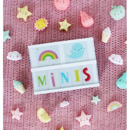 Mini plastová figurka Star Pink - 3 ks