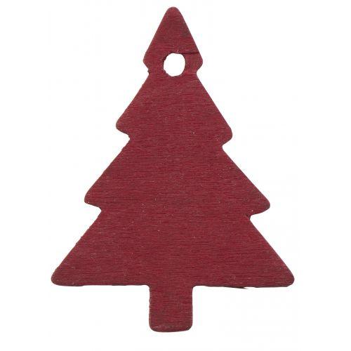 Dekorativní stromeček - červený