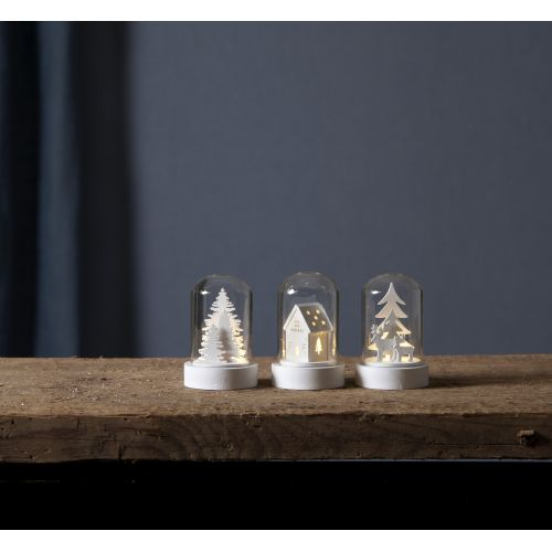 Svítící dekorace - Winter Fairytale set 3 kusů