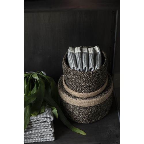 Malý pletený ručník ALTUM Light Grey