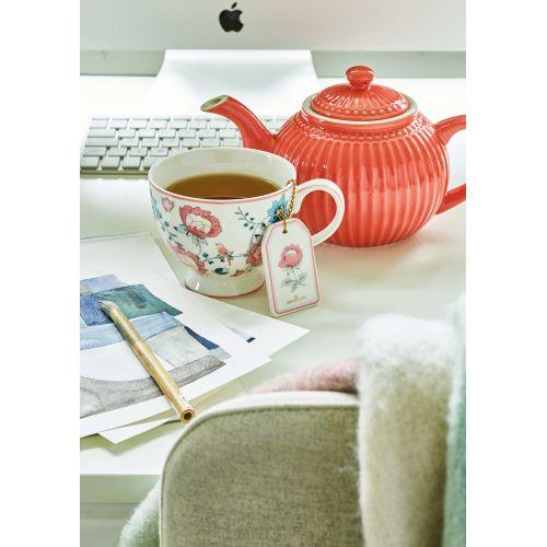 Nerezové sítko na čaj Sienna White