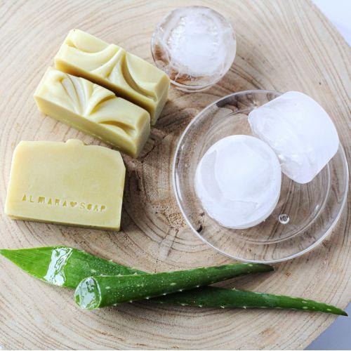 Přírodní mýdlo po opalování Aloe Vera