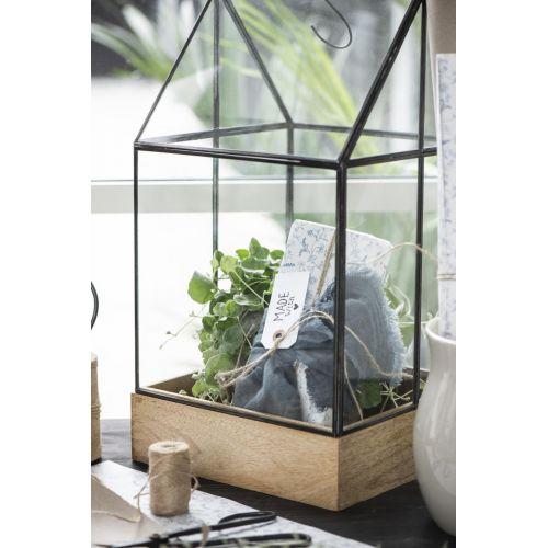 Skleník na květiny Greenhouse 48cm
