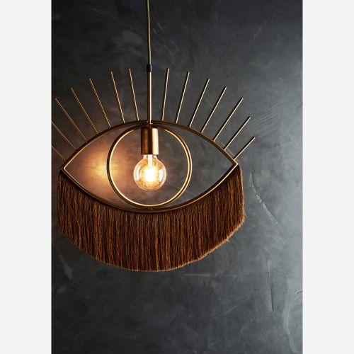 Závěsná lampa Eye-catching Gold