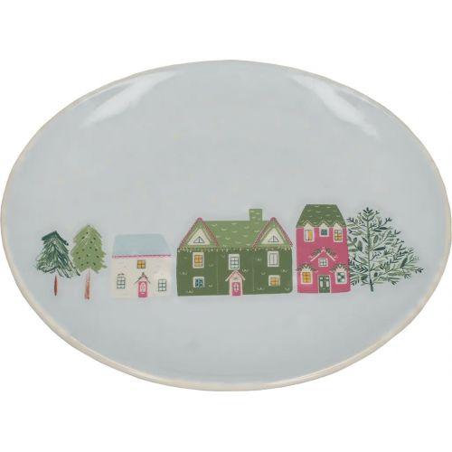 Dezertní talíř Houses