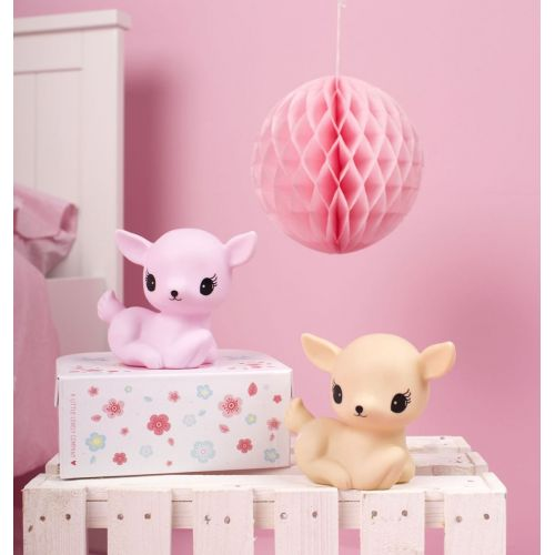 Dětská lampička Deer Pink