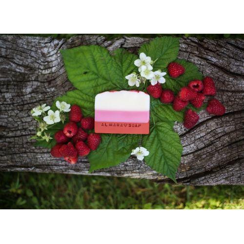 Přírodní mýdlo Božské maliny