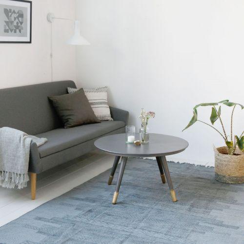 Bavlněný kobereček Karma Grey 160x230 cm