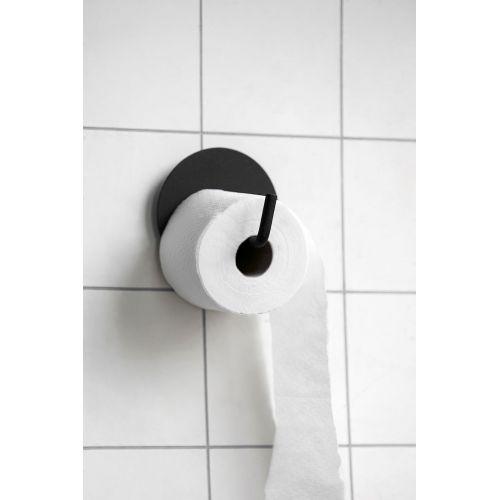 Kovový držák na toaletní papír Black