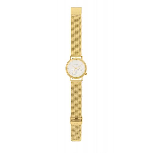 Unisex hodinky Komono Walther Gold Mesh