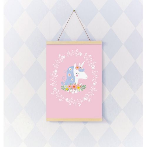 Dětský plakát Lovely Unicorn 50 x 70 cm