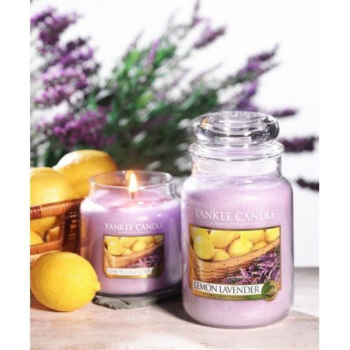 Svíčka Yankee Candle 411gr - Lemon Lavender