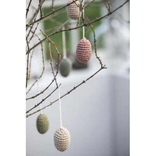 Pletená velikonoční vajíčka - menší