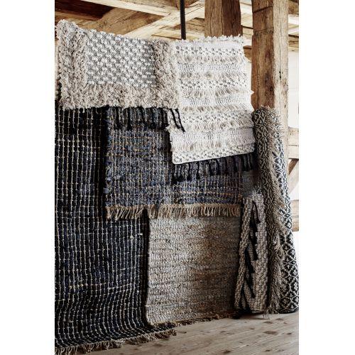 Ručně tkaný jutový koberec