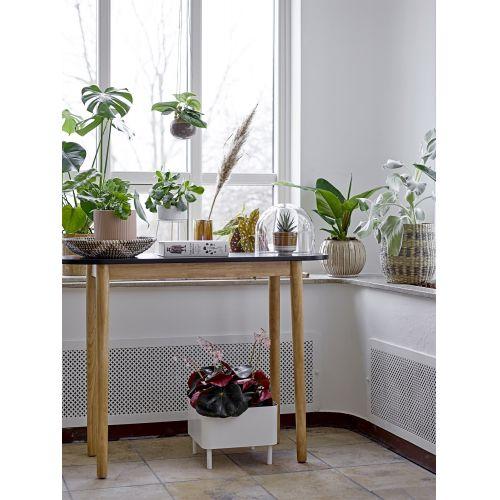 Kovový stojan na květináč Simply White