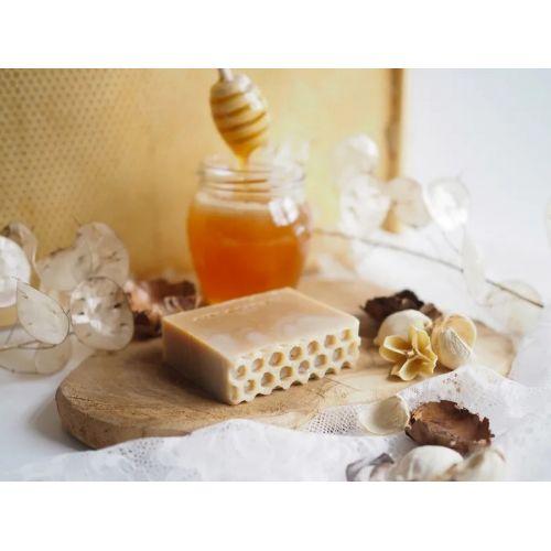 Přírodní mýdlo Medový květ
