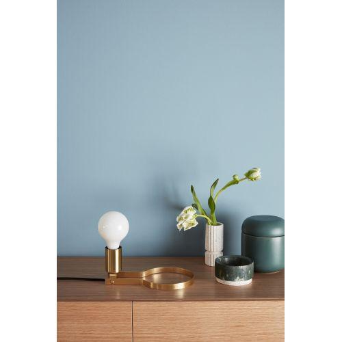 Závěsná/stolní lampa Bulb Brass