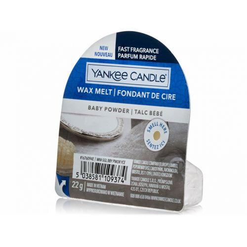 Vosk do aromalampy Yankee Candle 22 g - Baby Powder