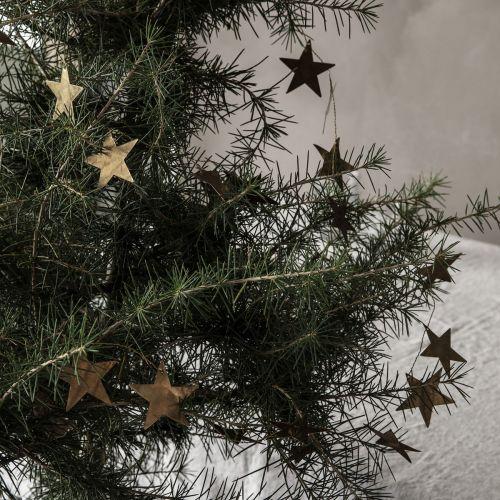 Vánoční girlanda Stars Antique Metallic