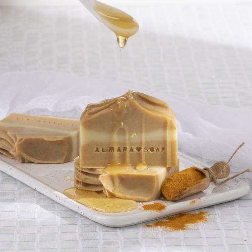 Přírodní mýdlo Curcuma & Honey