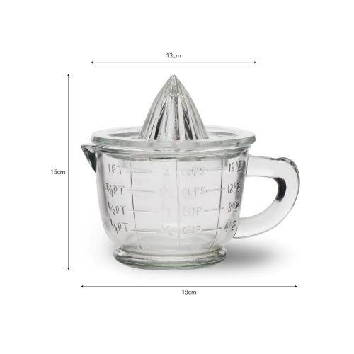 Ruční odšťavňovač na citrusy Glass 600ml