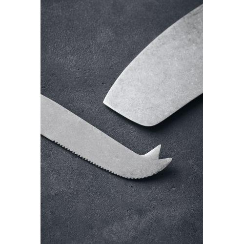 Set nerezových nožů na sýr - 2 ks