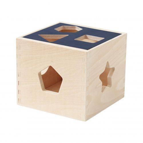 Dřevěná krabička s tvary Aiden