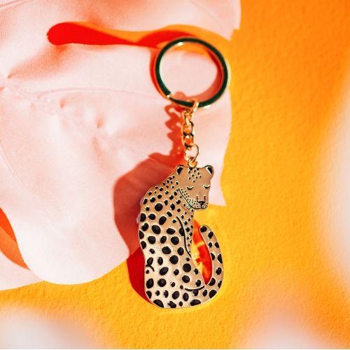 Klíčenka Leopard