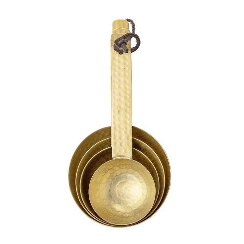 Zlaté odměrky Gold Brass