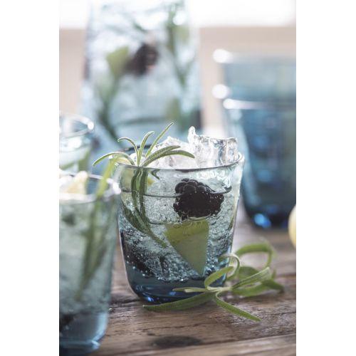 Sklenička Glass Blue 180ml