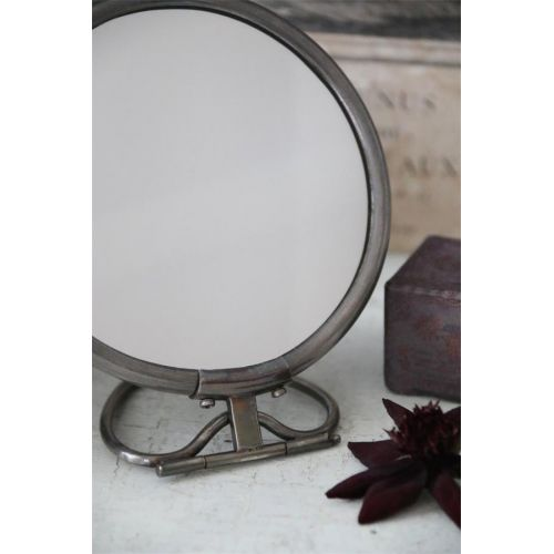 Kosmetické zrcátko Brass Mirror