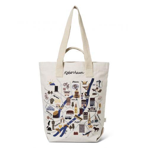 Bavlněná taška Copenhagen Tote Bag