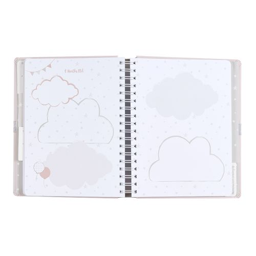 Deník miminka Baby B Pink